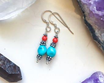 Tropical Reef Earrings