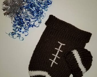 Football Baby Cocoon and Hat Set