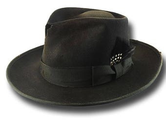 Fedora Johnny Depp Hat Dusty Customized Sergio Anzani Melegari Hatmaker