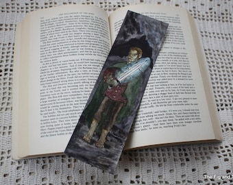 Literary Bookmark - Original Handillustrated Art Gift