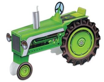 Farm 3D Centerpiece / tractor centerpiece / tractor/ farm party / cow party / barnyard