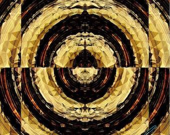 Yin Yang, Photographic artwork on metal, Metal Artwork, American Artworks