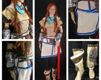 Aloy horizon zero dawn cosplay costume