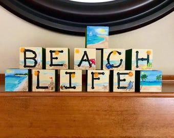 Beach life Blocks