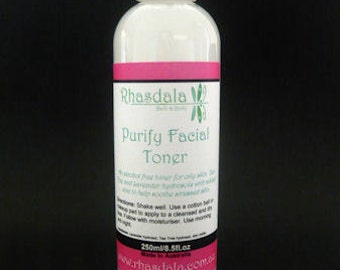 250ml Facial Toner - Purify Facial Toner - For Oily/Combination Skin