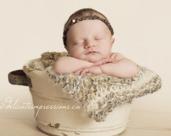 Blanket-Newborn Baby Photo Prop-Soft Blanket-Newborn Photography Props-Baby Portrait Prop-Basket Stuffer