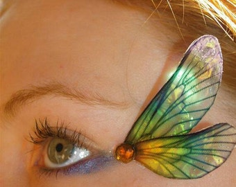 Fairy Wing, Eye Decorations, Dragonfly, rainbow, wings, pair