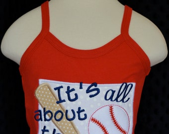 Personalized It's All About That Base Applique Shirt or Onesie Girl or Boy