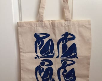 Matisse Blue Nudes Cutouts Tote