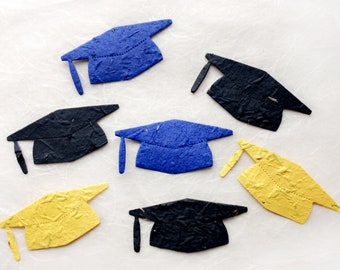 20+ Seed Paper Graduation Caps - College Graduation Card University Graduation Party - Kindergarden - College Development Office Gift