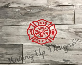 Fire Department SVG Png DXF