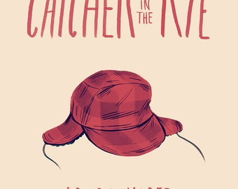 The Catcher in the Rye - Print
