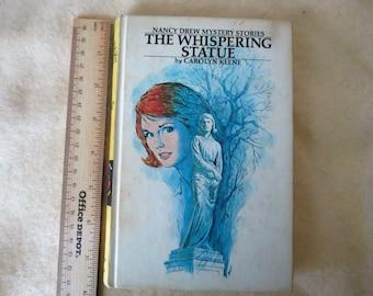 Nancy Drew Mystery Stories - The Whispering Statue - Carolyn Keene
