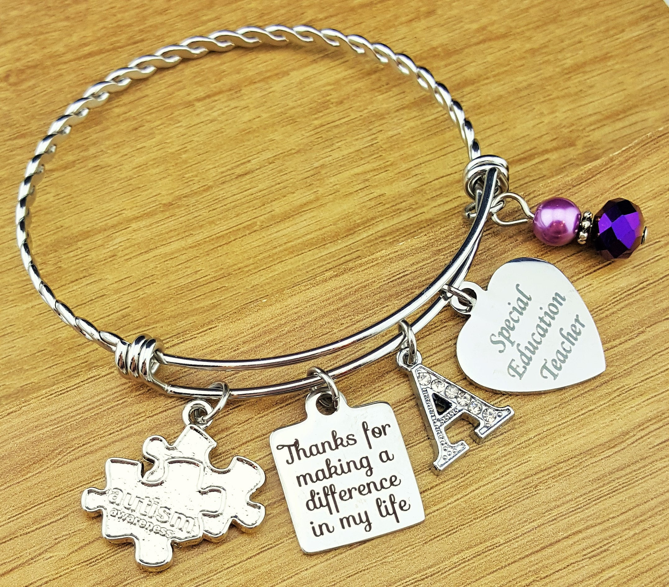 autism bracelet keep fighting product