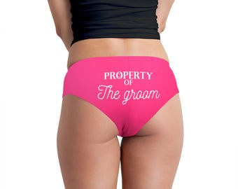 Property Of The Groom Women's Boyshort Underwear