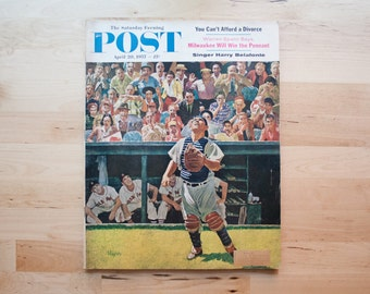 Saturday Evening Post -1957 Yogi Berra