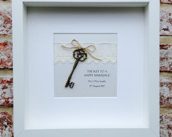 A Key To A Happy Marriage Frame