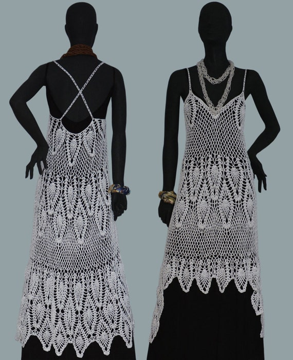 Crochet dress pattern detailed tutorial in english every crochet dress pattern detailed tutorial in english every row sexy crochet dress designer crochet dress pattern boho beach crochet dress ccuart Choice Image