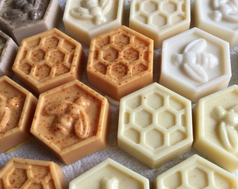 Honeycomb Honey Soap