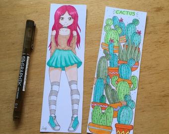 Anime Handmade  Bookmarkers illustration