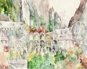 Rivendell Painting - Prin...