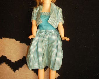 vintage toy doll hard plastic