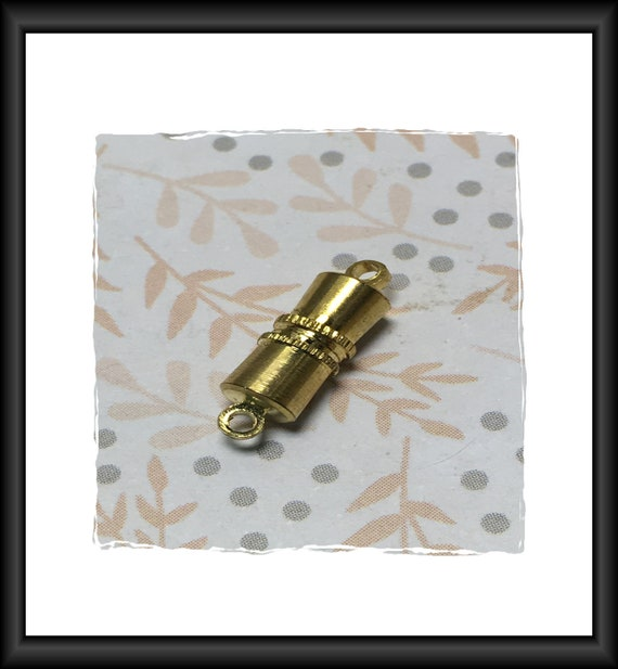 Gold 10 mm Magnetic Clasp
