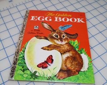 Vintage Little Golden Book - The Egg Book