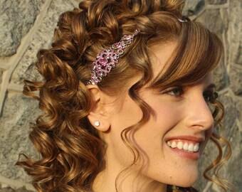 Crystal-Bügel - Crystal Headpiece - Hochzeitssuite Stirnband - Hochzeitssuite Stirnband - Hochzeit-Kopfband - Hochzeit Headpiece - Prom Headband - SOPHIA