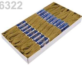 24 Docking Embroidery/Stick Twist #6322 Moss