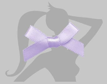 5 mini bow - different colors - 30mm satin ribbon bow