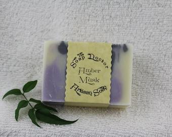 Amber Musk Soap