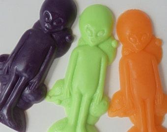 Soap - 10 Alien Party Favors Soap