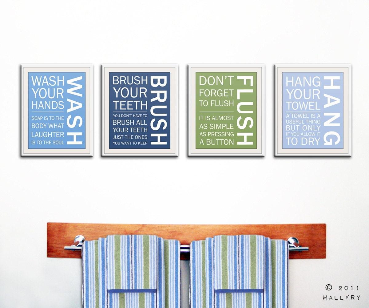 kids bathroom decor bathroom art bathroom prints bathroom. Black Bedroom Furniture Sets. Home Design Ideas