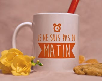 """The mug """"I'm not morning"""""""