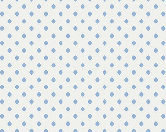 Half Yard Drift - Island Droplets in Sky Blue - Cotton Quilt Fabric - from Angela Walters for Art Gallery Fabrics (W1691)