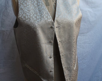 Gold patterned gents waistcoat REF 922
