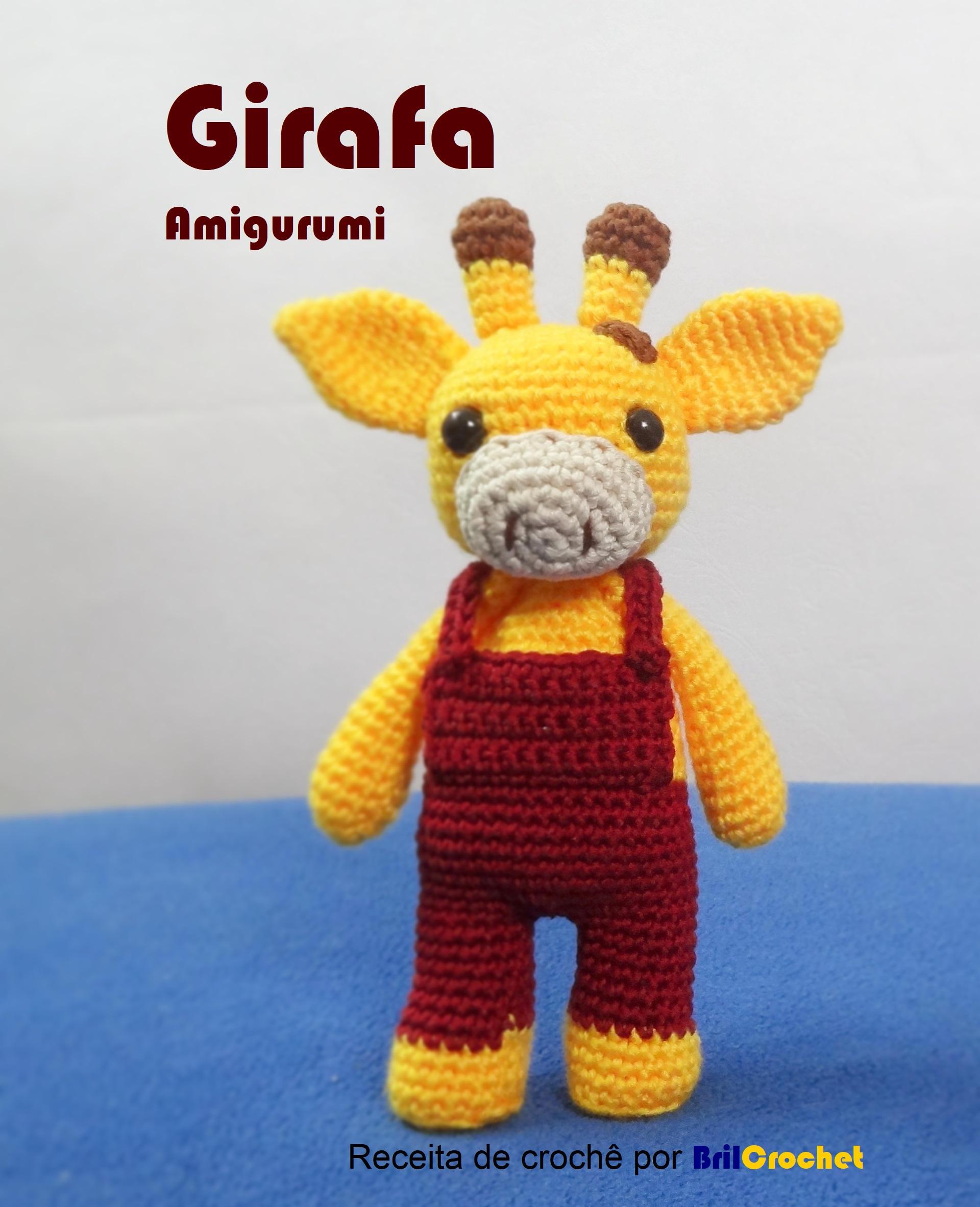 PATTERN: Giraffe amigurumi, Giraffe Pattern, PDF crochet pattern ...