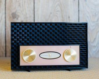 1955 Golden Shield Radio by Sylvania