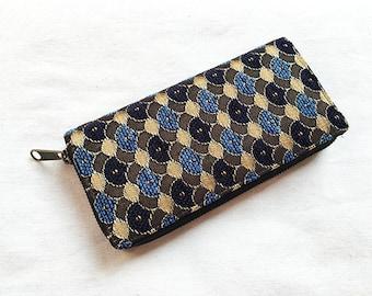 Handmade Tribal Zippered Long Wallet