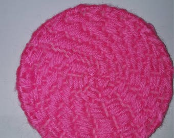 Pink Coaster