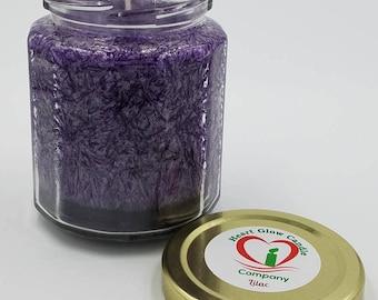9 oz. Candle Multi-Sided Jar (Soy/Palm)