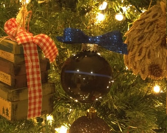 Blue Lives Matter Christmas Ornament - Blue Lives Matter Christmas