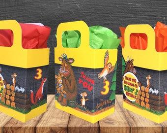 The Gruffalo Birthday Party Bag Box Personalised x 1