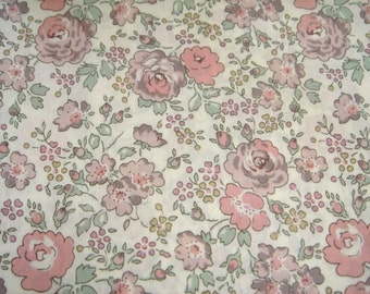 """Custom listing for P Liberty tana lawn Felicite  Pink  6meters length by 110cm or 42"""" wideth"""