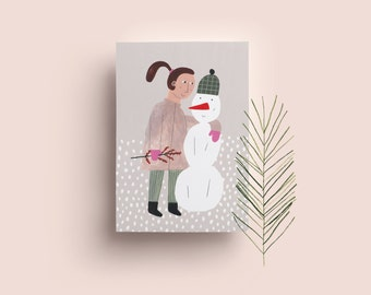 Postcard» girl 02»