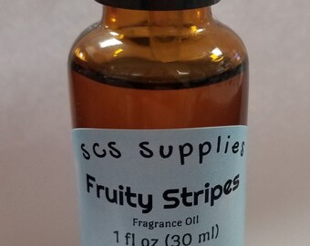 Fruity Stripes Fragrance Oil for Soaps and Candles