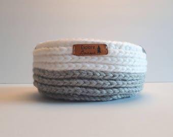 Decorative basket crochet