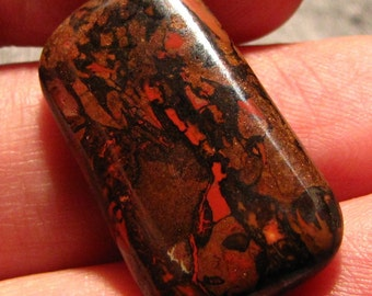 Nice 20ct Koroit boulder Opal freeform cabochon