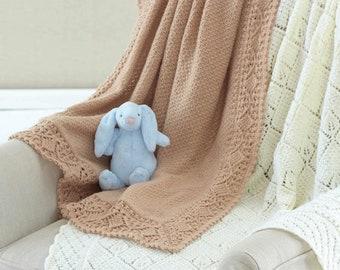 Sirdar 3 & 4 ply shawls